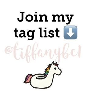 💕JOIN MY TAG LIST💕 Let me know in the comments⬇️